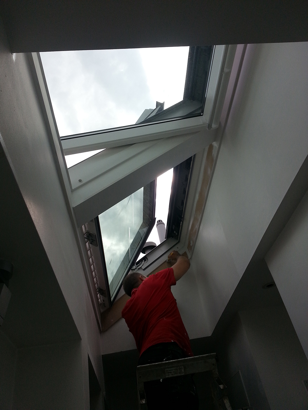 Chiswick velux installation skylight fitters Velux sun tunnel installation instructions