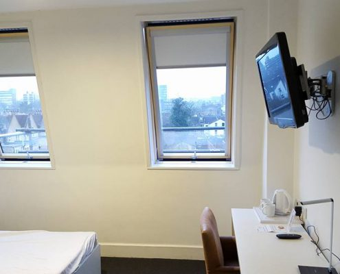 Large FAKRO Window installation by Skylight Fitters for a hotel chain