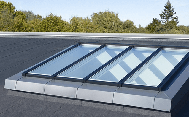Home skylight fitters for Atrium windows